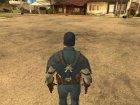 Первый мститель для GTA San Andreas вид слева