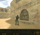 Новые текстуры гранат и прозрачный тактический щит для Counter-Strike 1.6 вид слева