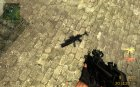 CSS Default MP5 Anims M203 for Counter-Strike Source top view