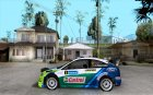 Ford Focus RS WRC 2006 для GTA San Andreas вид слева