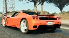 Ferrari Enzo 4.0 для GTA 5 вид сзади слева