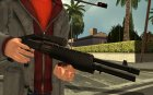 Atmosphere Combat Shotgun v4.3 для GTA San Andreas вид слева