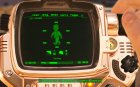 Pimp-Boy 4 Billion (Golden Pip-Boy) for Fallout 4 left view