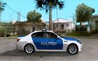 BMW 5-er Police for GTA San Andreas inside view