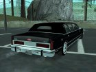 Lincoln Town Car Eagle '86 for GTA San Andreas rear-left view