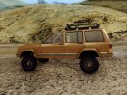 Jeep Cherokee 1984 for GTA San Andreas rear-left view