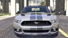 Ford Mustang GT 2015 1.0a for GTA 5 rear-left view