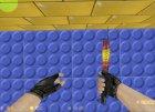 Мраморный градиент для Counter-Strike 1.6 вид сзади слева