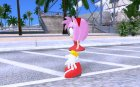 Amy Rose (from GTA Sonic IV Mod) для GTA San Andreas вид слева