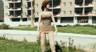 Lara Croft (Rise of The Tomb Raider) for GTA 5 top view