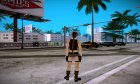 Best Lara Croft for GTA San Andreas rear-left view