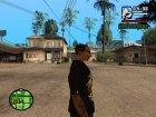 "Футболка ""Гонщик"" для GTA San Andreas вид сверху"