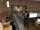 Skin GTA Online в маске коня v1 for GTA San Andreas rear-left view