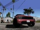 GTA 5 Cars Pack для GTA San Andreas вид сбоку
