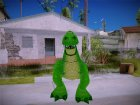 Rex Dinosaur Toy Story for GTA San Andreas rear-left view