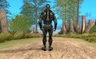 Crysis 2 Nano-Suit HD for GTA San Andreas rear-left view