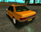 Peugeot 405 Roa Taxi for GTA San Andreas inside view