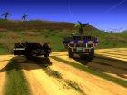 Пак машин российских спецслужб то ТеМы BerKyta для GTA San Andreas вид сверху