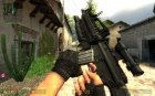 M16a4 V2 for Counter-Strike Source rear-left view