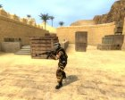 Desert Camo Helghast Skin For Gign for Counter-Strike Source inside view