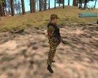 Стрелок ополчения ДНР for GTA San Andreas rear-left view