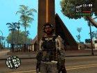 Пак скинов на военную тему для GTA San Andreas вид справа