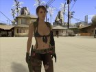 Skin HD Quiet (MGSV) v2 for GTA San Andreas