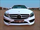 Mercedes-Benz C250 AMG Line для GTA San Andreas вид слева