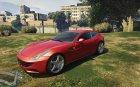 Ferrari FF for GTA 5 rear-left view