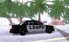 NEW LSPD POLICE CAR for GTA San Andreas inside view