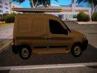 Citroen Berlingo Mk2 Van для GTA San Andreas вид сзади слева