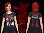 SlipKnoT TShirts for Sims 4 top view