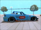 Honda S2000 Pandem Gulf Racing for GTA San Andreas rear-left view
