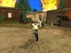 Пак мотоциклов и велосипедов by Babayka для GTA San Andreas вид сверху