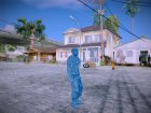 Blue Solider from Army Men Serges Heroes 2 для GTA San Andreas вид слева