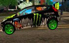 Ford Fiesta 2011 Ken Block's for GTA San Andreas left view