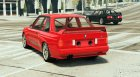 1991 BMW E30 (Race Car) для GTA 5 вид сзади слева