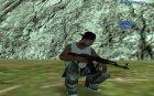 Пак оружия (номер 3) для GTA San Andreas вид сверху