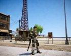 Chris from Resident Evil 5 для GTA 4 вид сзади слева