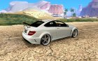Mercedes-Benz C63 AMG Black Edition [ImVehLM] для GTA San Andreas вид сверху