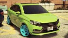 2015 Lada Vesta 0.2 for GTA 5 left view