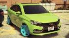 2015 Lada Vesta 0.2 for GTA 5 left view