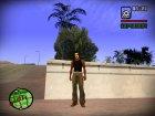 Джинсы для CJ v2 for GTA San Andreas rear-left view