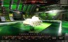 Ангар от Genius89 (премиум) для World of Tanks вид сверху
