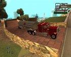 Пак дальнобойщика для GTA San Andreas вид изнутри
