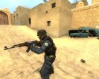 Default Gign :no Fake: для Counter-Strike Source вид сзади слева