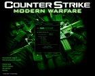CS Modern Warfare GUI for Counter-Strike 1.6 rear-left view