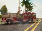 GTA V MTL Firetruck для GTA San Andreas вид слева