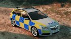 Police Vauxhall Insignia Estate v1.1 for GTA 5 top view