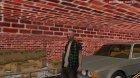 Вход в закрытый и скрытый гараж в Криминальной России для GTA San Andreas вид слева